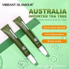 Tea Plant Effective Acne Removal Cream Acne Treatment Fade Acne Spots Oil Control Shrink Pores Moist