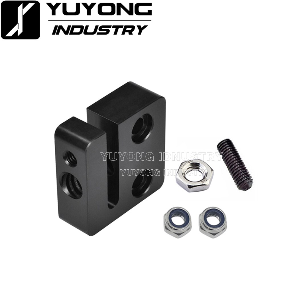 50Pcs/3d printer accessories T openbuilds type anti-backlash nut block T8 screw 8mm