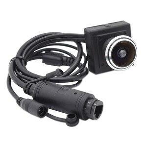 SD Card Slot POE Fisheye HD 720P 960P 1080P 3MP 5MP Security Audio Video Mini Indoor IP Camera POE ONVIF P2P IP CCTV Cam System