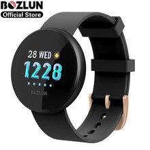 Bozlun 1,04 inch IPS Bildschirm Touch Frauen Smart Uhr Herz Rate Überwachung IP68 Wasserdichte Weibliche Smartwatch Für andorid ios B36