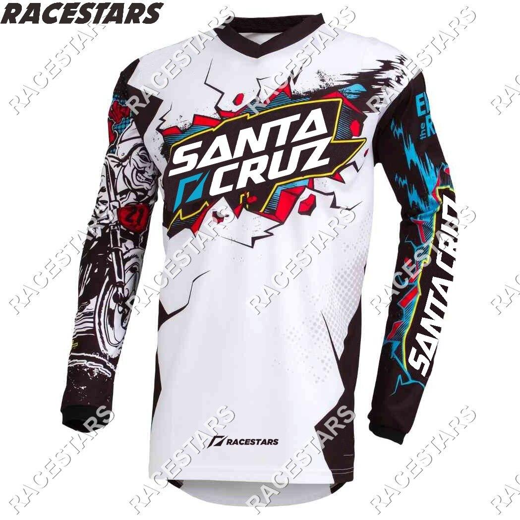 Camiseta de Motocross de SANTA CRUZ para descenso, Maillot de Enduro para...