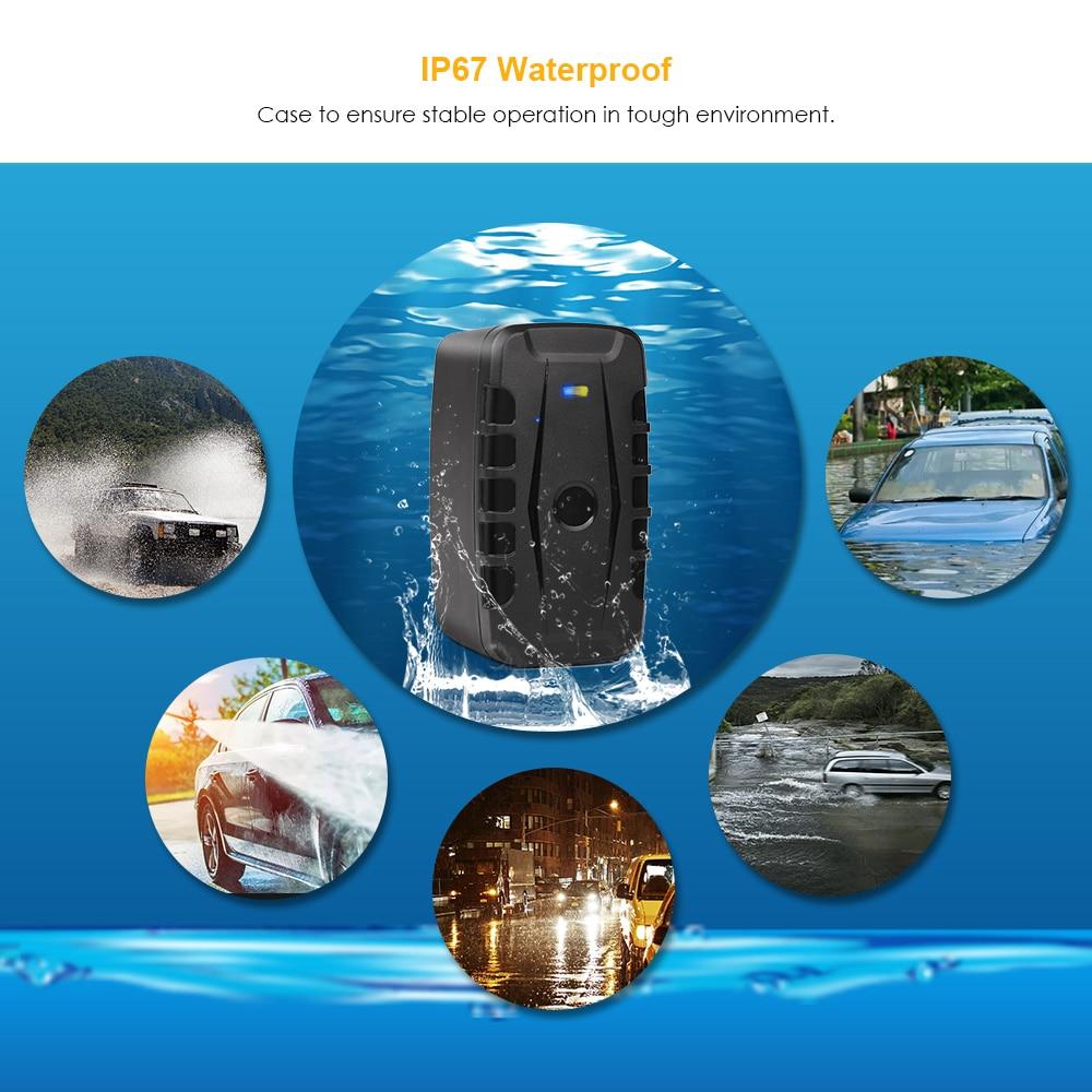 GPS Tracker Car  20000mAh 240 Days Standby Vehicle Car Tracker Waterproof 2G GPS Locator Tracker Magnets Drop Shock Alarm enlarge