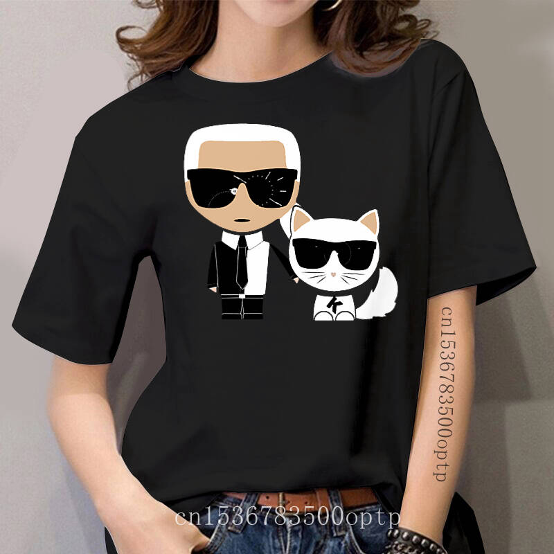 Grappige Karls Korte Mouw Casual Tee T-shirt Vrouwen Fashion Katoenen T-shirts