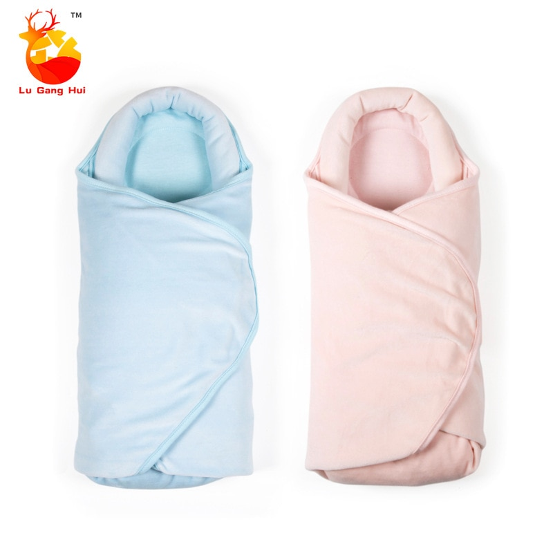 0-12M Newborn Baby Cotton Blanket Swaddle Toddler Sleeping Bags Sleep Sack Little Baby Stroller Babies Wrap