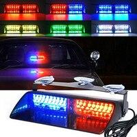 Автомобильный светодиодный стробоскосветильник, красный/синий/янтарный/белый сигнальные лампы, аварийная мигающая сигнаПредупреждение с...