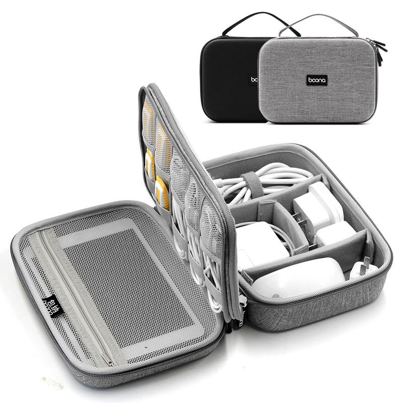 Bolsas de almacenamiento Digital EVA duro de doble capa para cargador de...