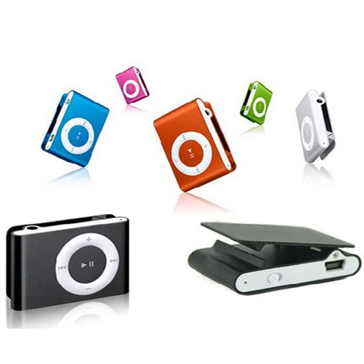ZOMTOP NEW Big Promotion Mirror Portable MP3 Player Mini Clip MP3 Player Waterproof Sport Mp3 Music