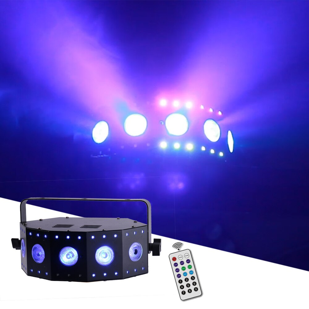 19x25W RGBW 4IN1 Zoom Wash Beam Horse Running Light 12CH/55CH DMX Stage DJ Disco led Projector Effect Lights For Wedding Party