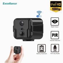 Mini Camera 1080P Full HD WiFi IP Battery Two Way Audio Night Vision Voice Recorder Wireless Camcord