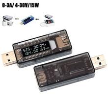 Tester per caricabatterie USB medico voltmetro misuratore di corrente voltmetro amperometro Tester di capacità della batteria rilevatore di potenza Mobile