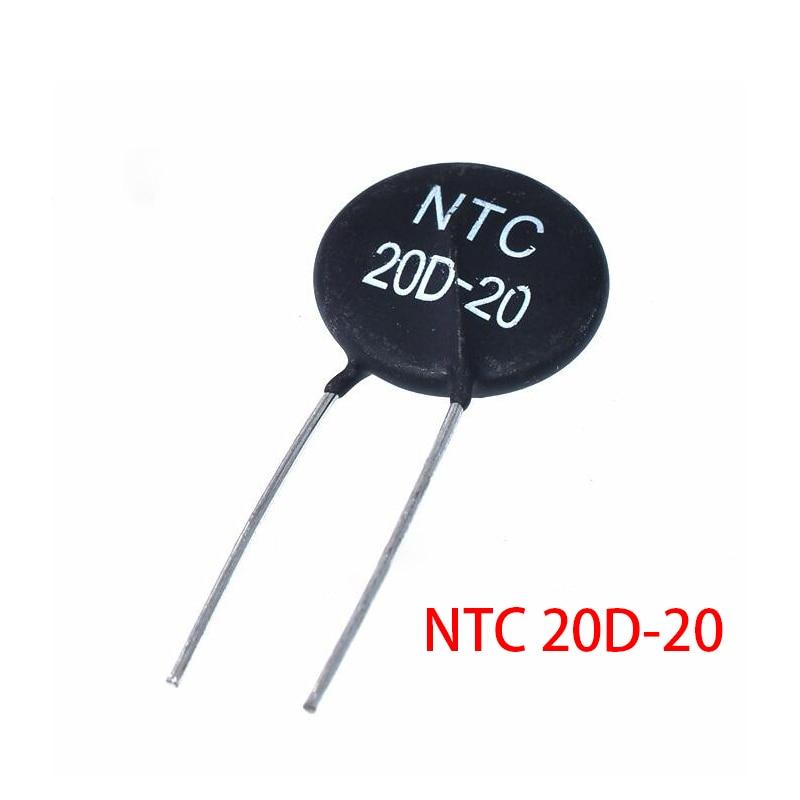 Resistor térmico ntc 20d-20 do resistor do termistor de 5 pces
