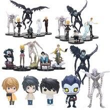 Dessin animé Note de mort jouet Note de mort L tueur Ryuuku ryuku Rem Misa Amane PVC figurine vinyle poupées Collection modèle jouets