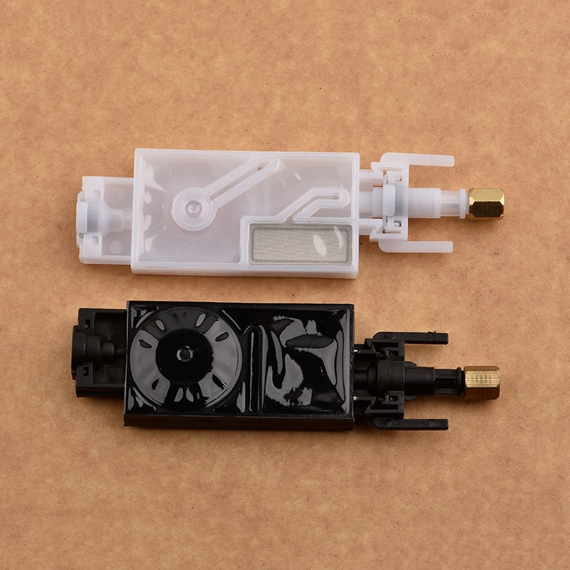 10 unidades de amortiguador de tinta dx5 con conector para mimaki cjv30 jv33 jv5 roland mutoh Galaxy Human wit-color dx5, filtro de volquete de cabeza de impresión