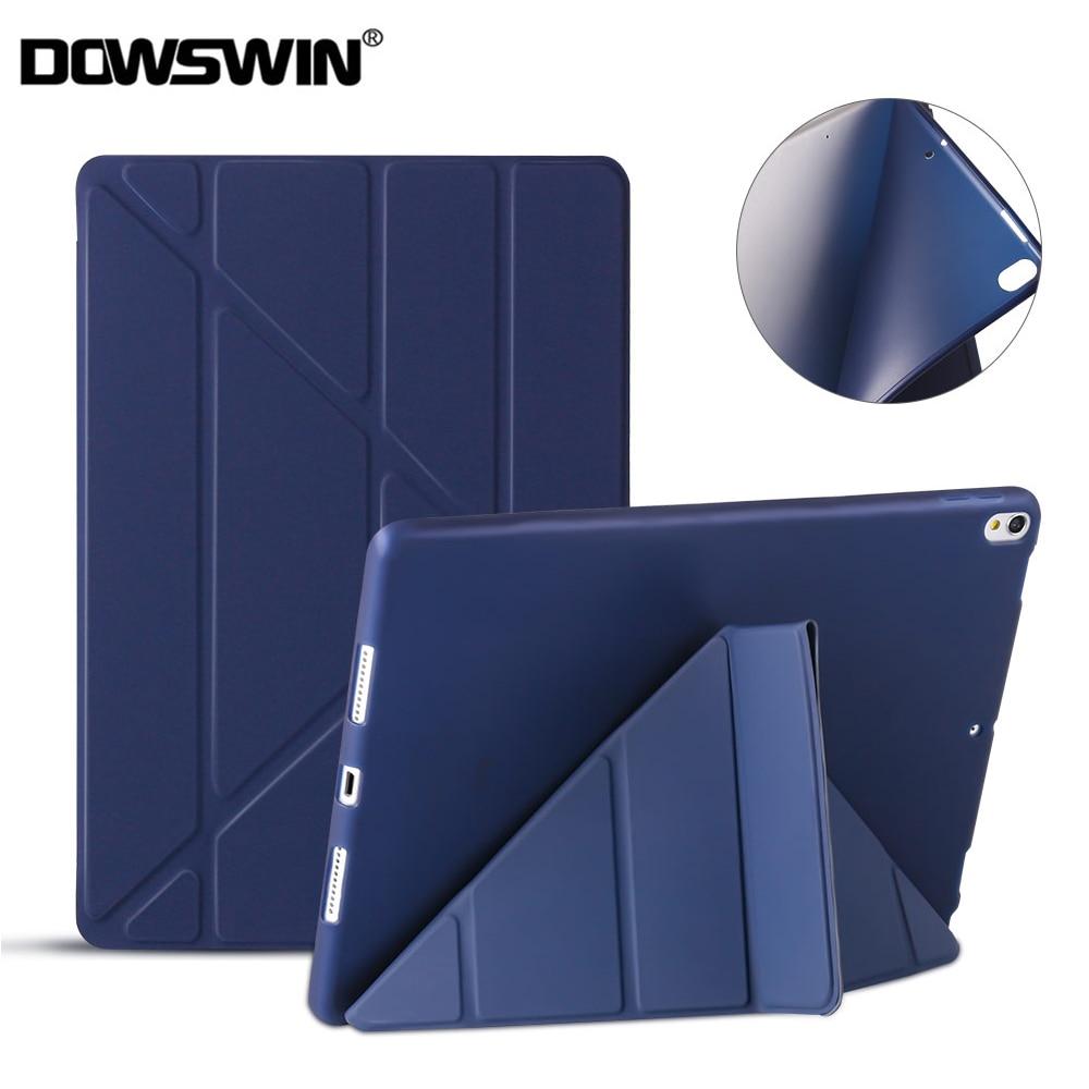 Para funda de iPad Pro 10,5, fundas de cuero PU Smart Cover para iPad Air 3 2019, funda suave de TPU para iPad Pro 10,5 A1701 A1709 A2152 A2123