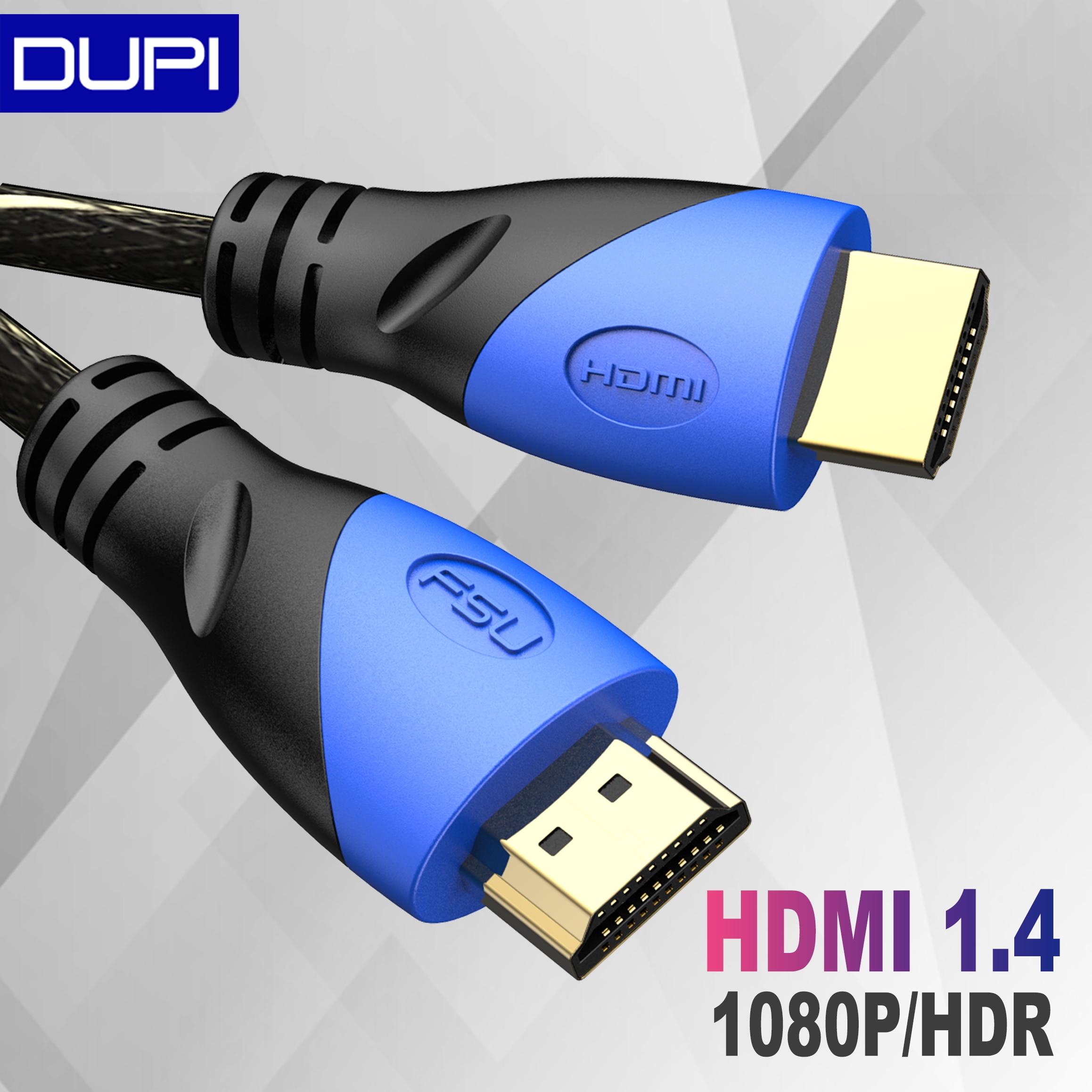 Adaptador de interruptor de Cable HDMI de nailon trenzado 1M 3M 5M 8M cable HDMI 1080P 3D para PS4 Xbox proyector TV PC ordenador portátil Cable HDMI