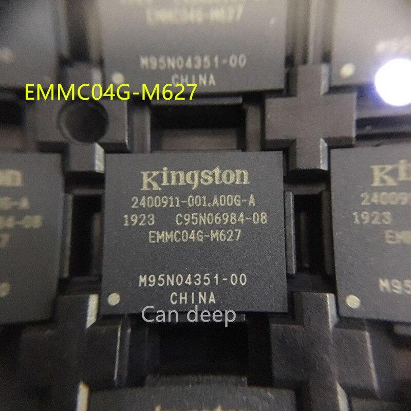 2 unids/lote EMMC04G-M627 nuevo y original memoria EMMC04G BGA153
