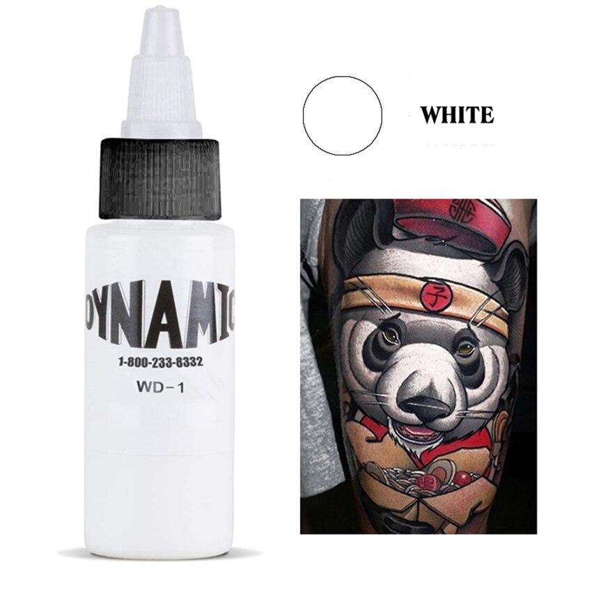 Maquillaje permanente tatuaje dinámico tatuaje blanco tinta Wd-1
