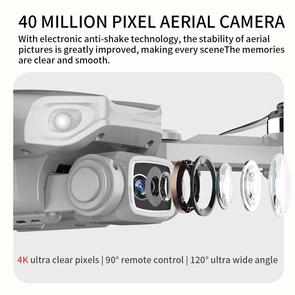 New L900 Pro GPS Drone 4K Professional HD Dual Camera 5G WIFI FPV Dron 28min Flight Distance 1.2km Brushless Motor Quadcopter S4 enlarge