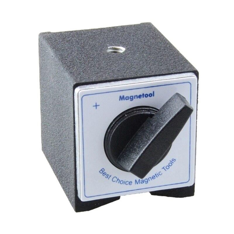 NH-F m5 parafuso buraco mini tipo 30kg força de retenção interruptor em fora dial indicador suporte suporte do eixo base magnética