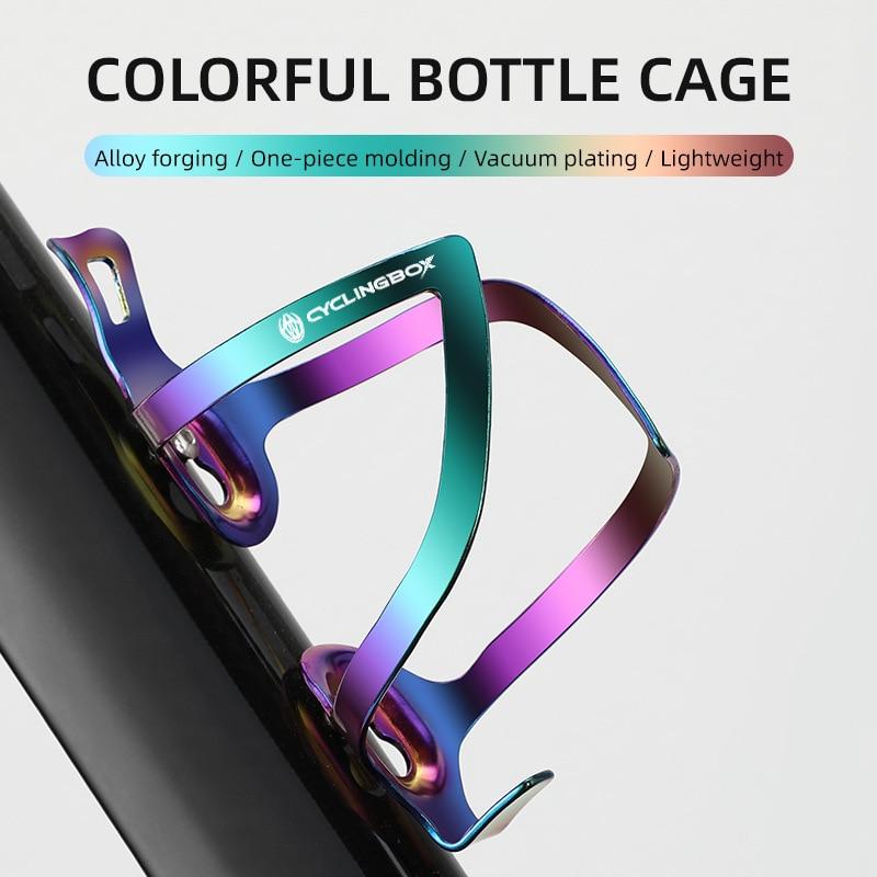 Цветной алюминиевый сплав чайник держатель велосипеда держатель кружки для велосипеда горный велосипед держатель для бутылки держатель