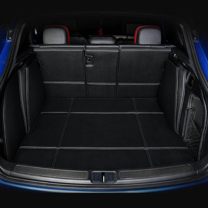 Alfombras impermeables sin olor de cobertura completa 3D esteras para maletero especiales duraderas para Hyundai IX25 IX35 Tucson Santafe Veloster Veracruz