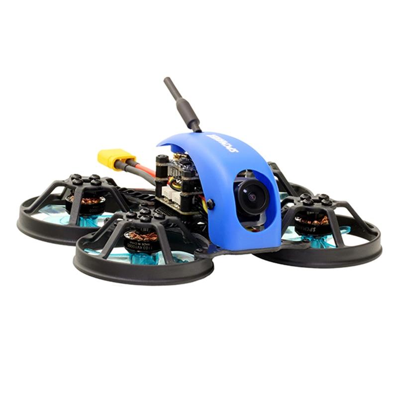 SPCMAKER Mini Whale Pro 78mm F4 2-3S Whoop FPV Racing Drone PNP/BNF w/ MATEK F411 Flight Controller MICRO 12A 4 In 1 ESC