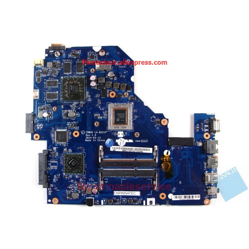 NBMLE11001 A10-7300 اللوحة لشركة أيسر أسباير E5-551G Z5WAK LA-B221P