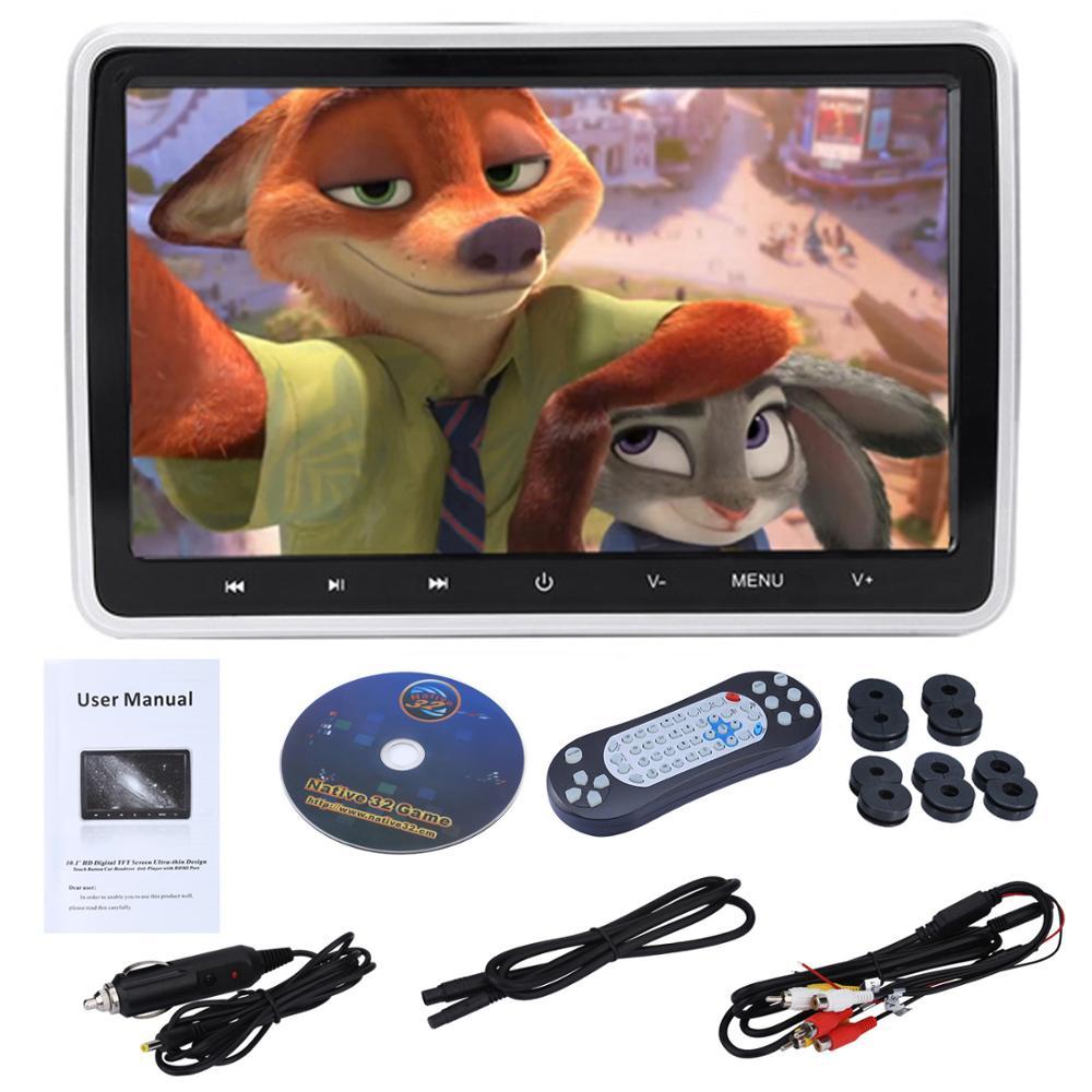 Reproductor de DVD con Monitor externo para coche, pantalla LCD Digital a...
