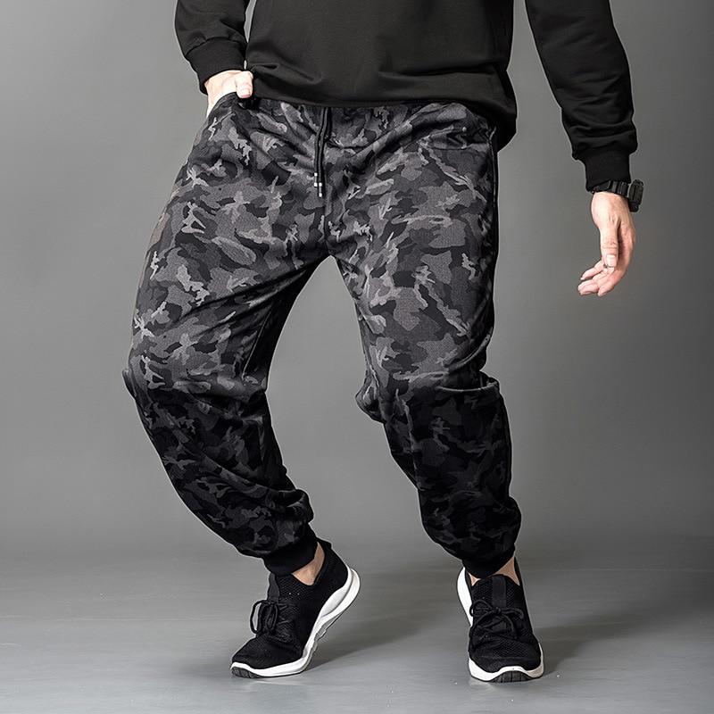 Gersri Mens Joggers Military Camouflage Cargo Pants Fashion Trousers Streetwear Men's Casual Pants Man Large size 5xl 6xl 7xl