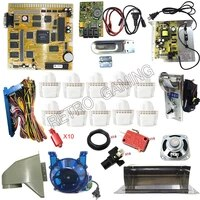 7 in 1 casino multigame slot pcb game board kit arcade coin hopper acceptor led push button speaker power for gambling machine