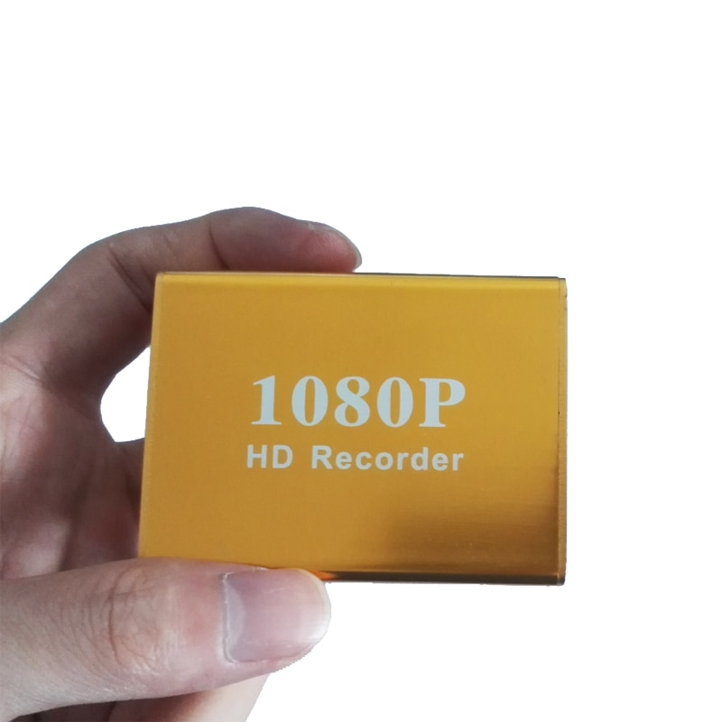 1080P Mini AHD TVI DVR 1Ch CCTV AHD-N Hybrid DVR/1080P 2 in1 Video Recorder For AHD Analog Camera with Max Card 128G IR Remote