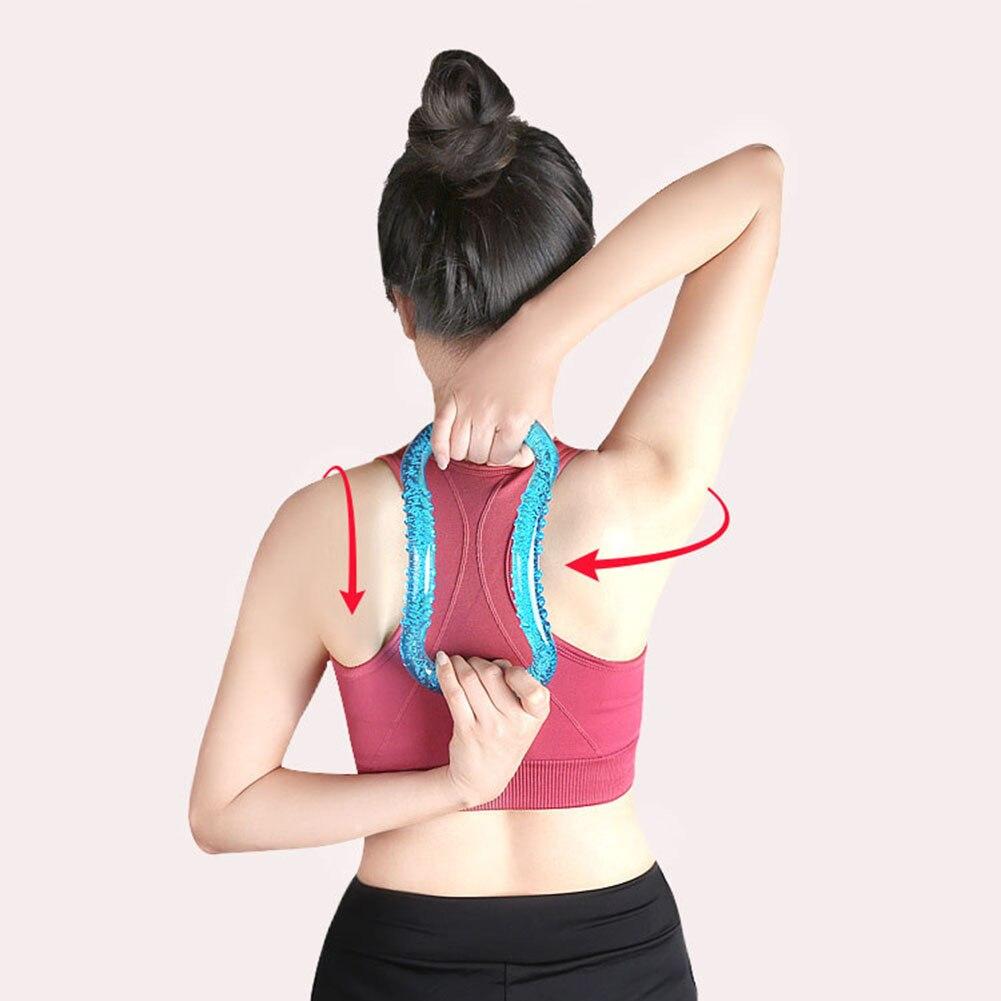 Yoga Magic Circle hombros al descubierto Beauty back ring Gym culturismo cintura hombro ejercicio entrenamiento para el hogar ejercicio Accesorios