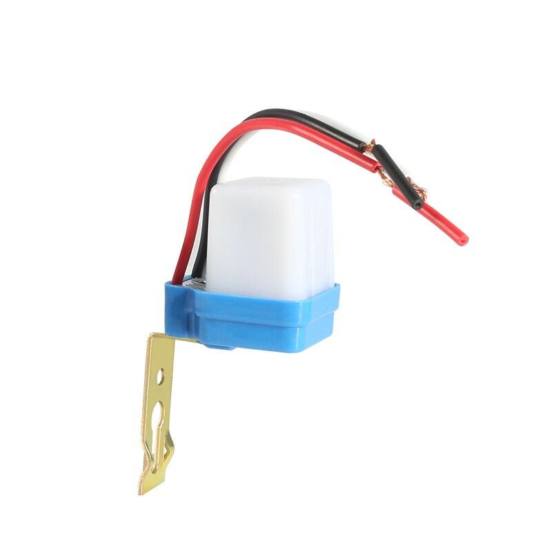 100pcs Automatic On Off Photocell Street Light Switch DC AC 220V/110V/24V/12V 50-60Hz 10A Photo Control Sensor Switch enlarge