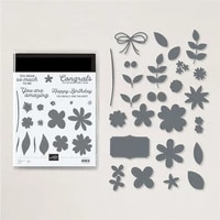 in bloom metal cutting dies and stamps stencils for diy scrapbooking photo album decor die cut embossing paper card crafts make