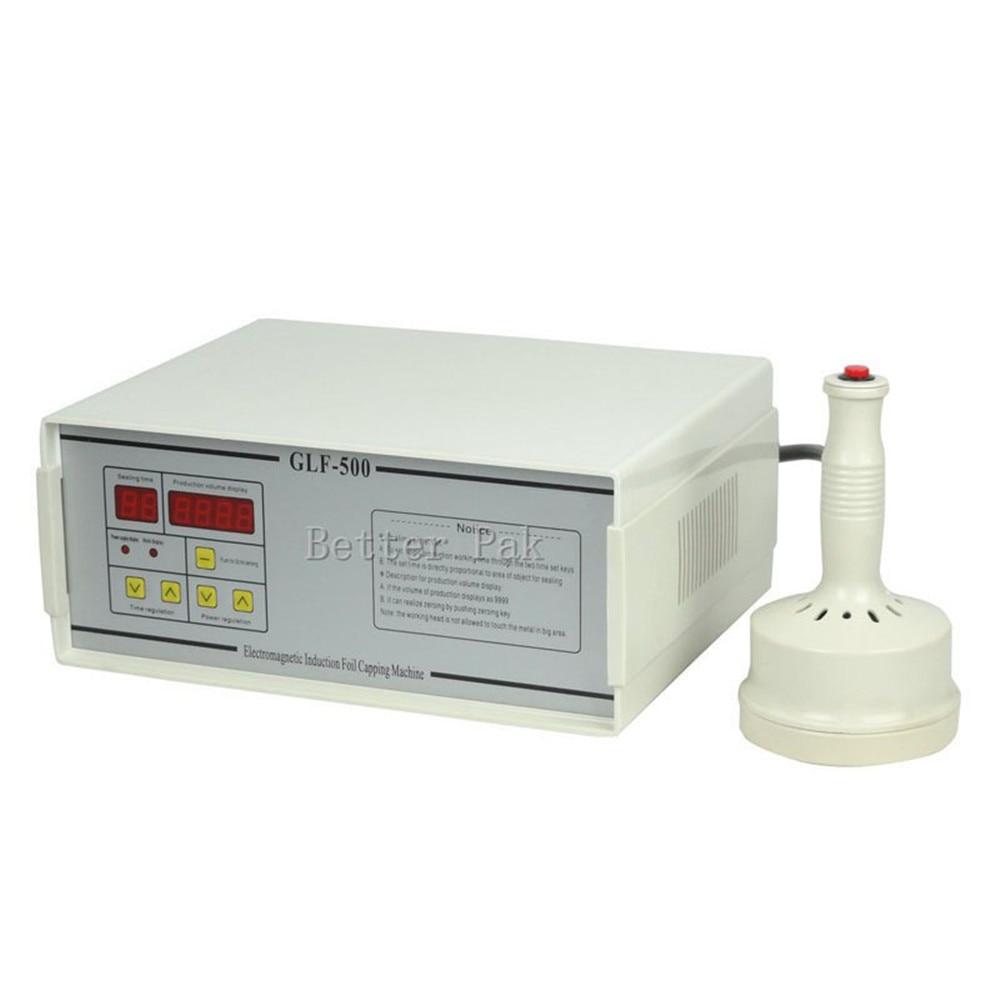 GLF-500 aluminum foil sealing machine,electromagnetic induction sealing machine,BateRpak Continuous Induction Sealer 110V/220V недорого