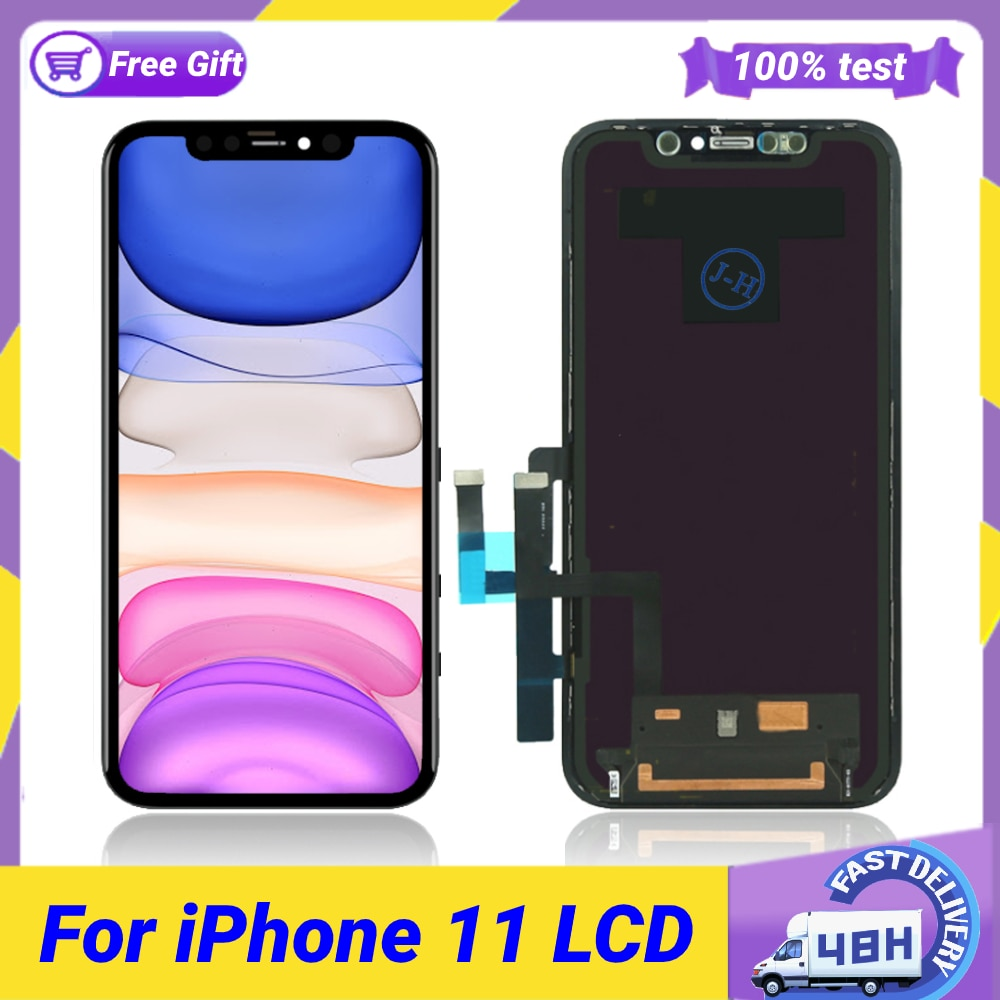 Pantalla LCD OLED para iPhone 11 Pro Max, montaje de digitalizador con...