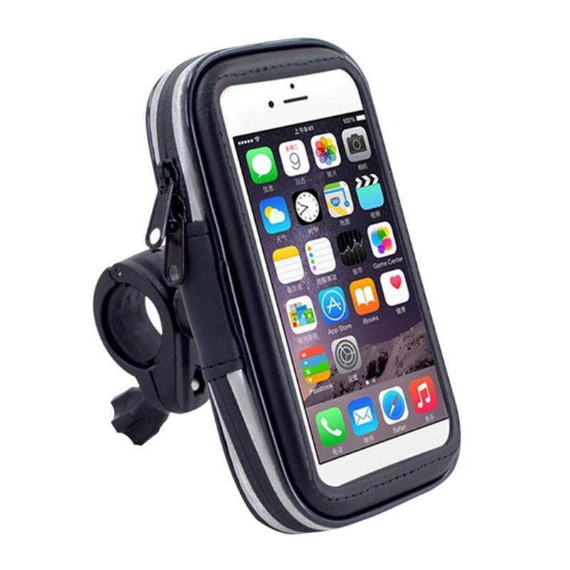 Bolsa de teléfono de gran oferta, fabricante hábil, bolsa de teléfono de bicicleta portátil, funda impermeable MTB Scooter, soporte de teléfono, soporte de navegación