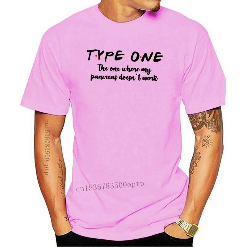 New Diabete Type One The One Where My Pancreas Doesn'T Work Men T-Shirt White 035141