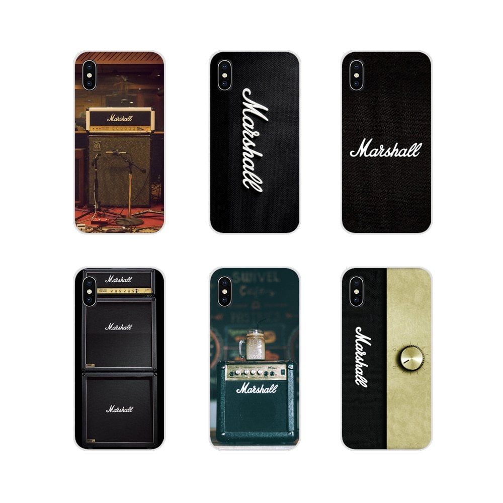 Acessórios Phone Cases Covers guitarra amp marshall Para Samsung A10 A30 A40 A50 A60 A70 M30 Galaxy Note 2 3 4 5 8 9 10 PLUS