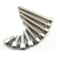 m5 m6 m8 stainless steel allen hex socket bolts cap head screws din912 metric full thread