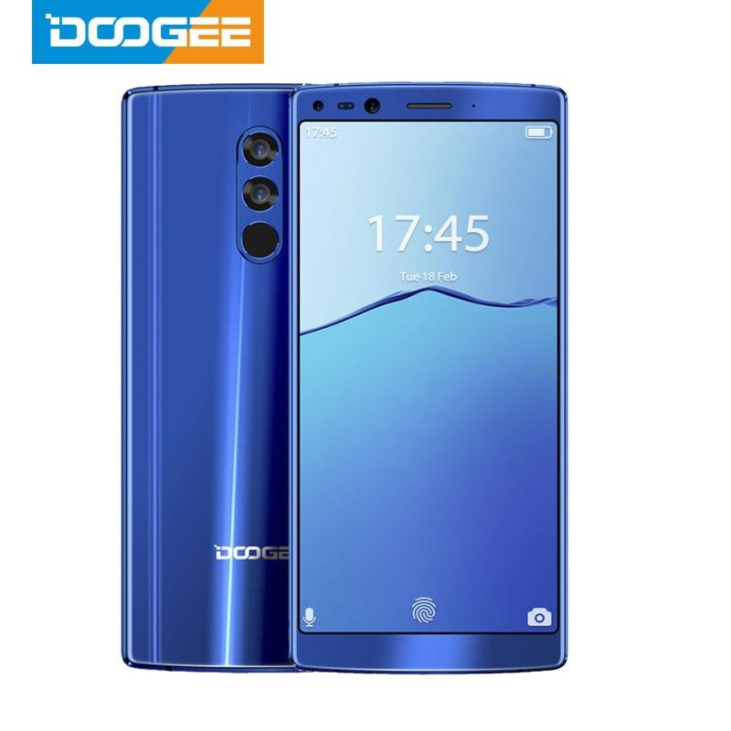 DOOGEE Mix 2 6 ГБ ОЗУ 64 Гб ПЗУ Helio P25 Восьмиядерный 5,99 FHD + смартфон Quad Camera 16,0 + 13,0 MP 8,0 + 8,0 MP Android 7,1 4060 мАч