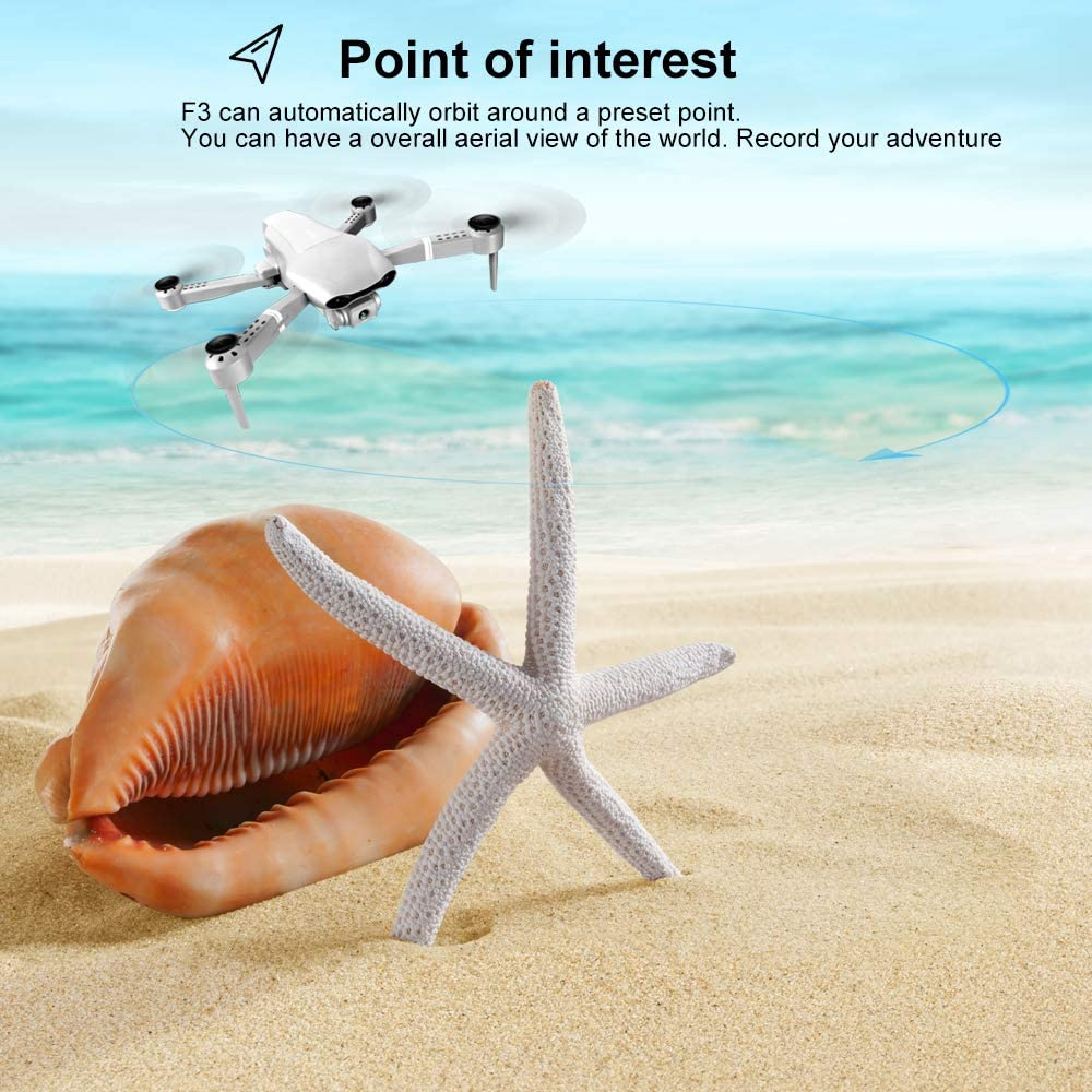 F3 drone GPS 4K 5G WiFi live video FPV quadrotor flight 25 minutes rc distance 500m drone Profesional HD wide-an dual camera 8