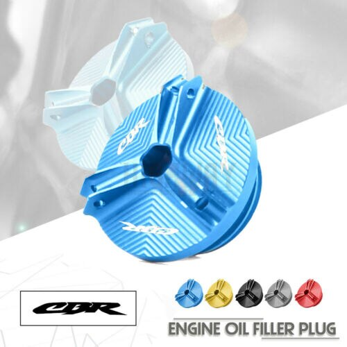 Motorcycle CNC Engine Oil Fuel Filler Filter Tank Cap Cover Plug  For HONDA CB650R CBR650R CBR500R CB1000R CBR 500R