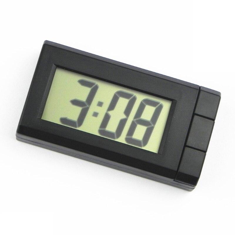 Автомобильные цифровые часы, миниатюрные автомобильные часы, автомобильные часы с отображением даты месяца, секундомером