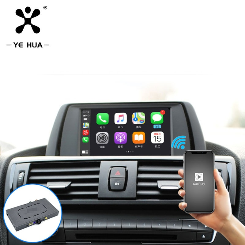 For BMW F30 Wireless CarPlay Ai Box Netflix Pantalla Com Android Auto Accessories 2012-2017 2018 2019