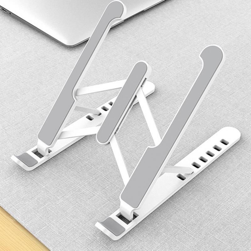 Soporte ajustable para ordenador portátil soporte plegable Base para portátil soporte para Macbook Pro Air HP Lapdesk soporte de refrigeración para ordenador nuevo