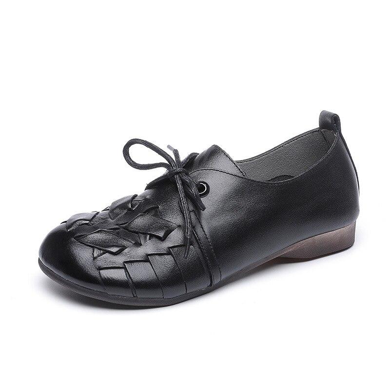 2021 الربيع والخريف اللون مطابقة أحذية نسائية