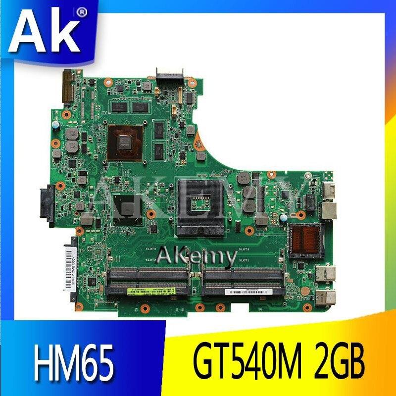 AK N53SN материнская плата для ноутбука ASUS N53SN N53SM N53SV N53S N53 тест оригинальная материнская плата GT540M 2GB HM65