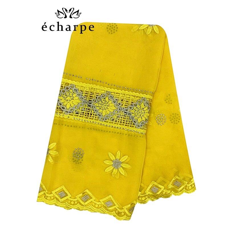 Frete grátis novo africano mulheres chiffon cachecol bordado muçulmano hijab lenço econômico chiffon splicing design ec523