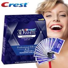 Crest 3D Whitestrips Effetti Professionali Kit di Sbiancamento Dei Denti Igiene Orale Sbiancamento Dei Denti Strisce 20 Sacchetto/Scatola o 10 Del Sacchetto/NoBox